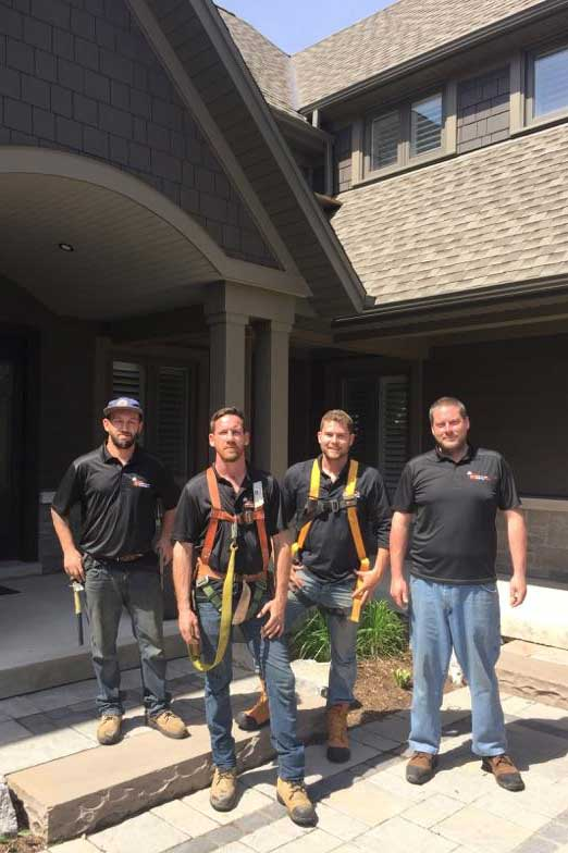 The London Eavestrough and Siding Team